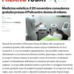 Ufficio Stampa Portfolio Policentro Donna articolo su Milano Today