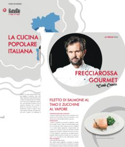 Marika De Sandoli Portfolio Business Writing La Freccia Ricetta Frecciarossa Gourmet Cracco 07 2019