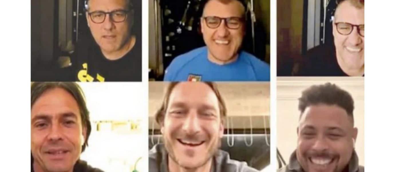 Bobo TV di Christian Vieri, le sue dirette Facebook durante la quarantena
